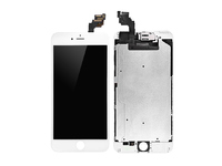 MicroSpareparts Mobile IPhone 6+ LCD Assembly White Original Full Assembly, MSPPXAP-DFA-IPO6PLUS-W - eet01