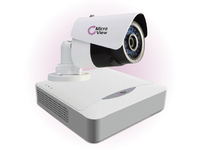MVI-BUNDLE-001 MicroView Mini IR Bullet IP1.3MP Outdoor Including 8-channel recorder, - eet01