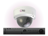 MVI-BUNDLE-002 MicroView Mini IR Dome IP 1.3MP Outdoor Including 16-channel recorder, - eet01