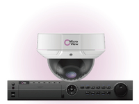 MVI-BUNDLE-003 MicroView IR Dome IP 3MP Outdoor Including 16-channel recorder, - eet01