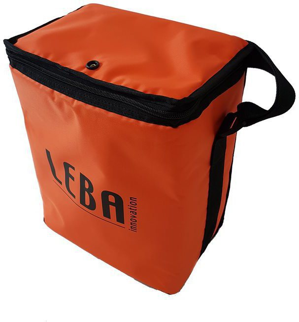 Leba NoteBag Orange, carries 5 tabl Storage bag for 5 tablets NB2-5TAB-ORA - eet01