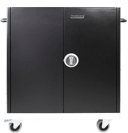 Leba NoteCart Unifit for 24 Laptops Fix shelv. 24 DK power sockets NCU-24-FH-419-DK - eet01