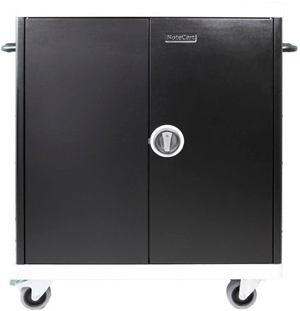 Leba NoteCart Unifit for 24 Laptops Fix shelv. 24 SC power sockets NCU-24-FH-419-SC - eet01