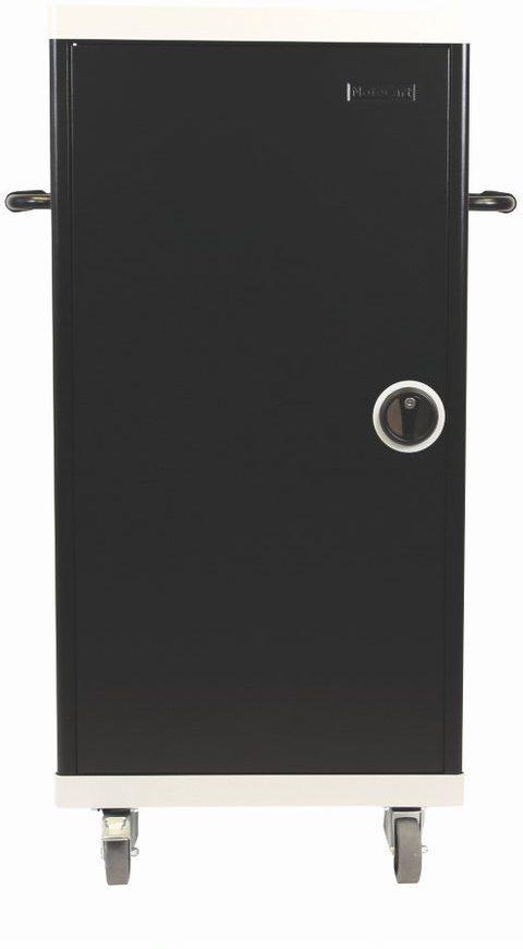 Leba NoteCart Unifit, 30 unit, ver Vertical room, 30 units, DK NCU-30-FV-DK - eet01