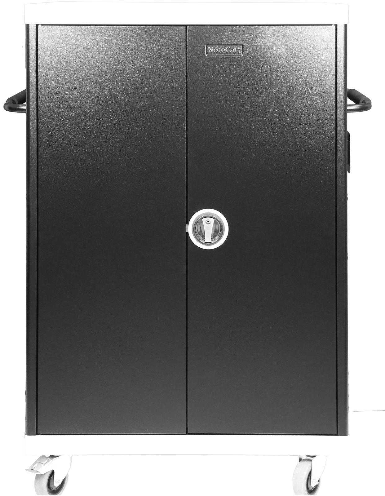 Leba NoteCart Unifit for 32 Laptops Fix shelv. 32 SC power sockets NCU-32-FH-419-SC - eet01