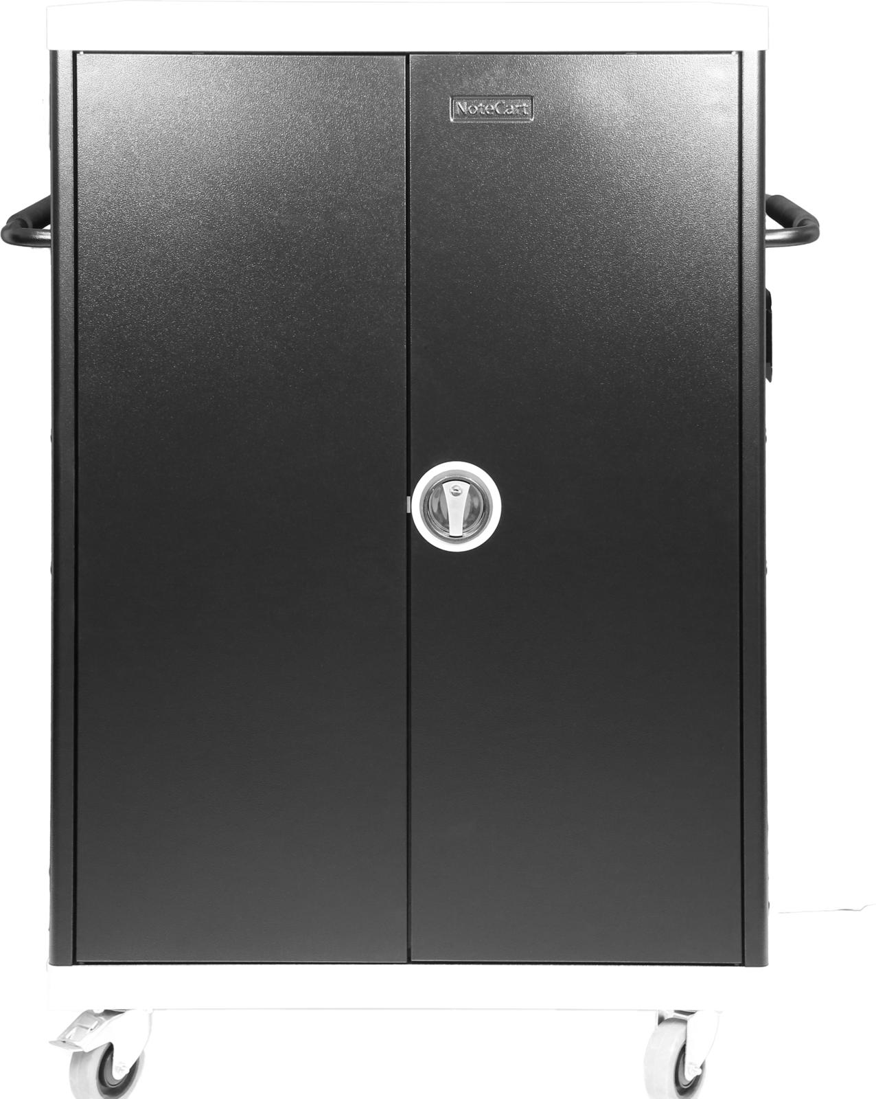 Leba NoteCart UniFit for 32 Laptops Horizontal storage for Laptops NCU-32-FH-DK - eet01