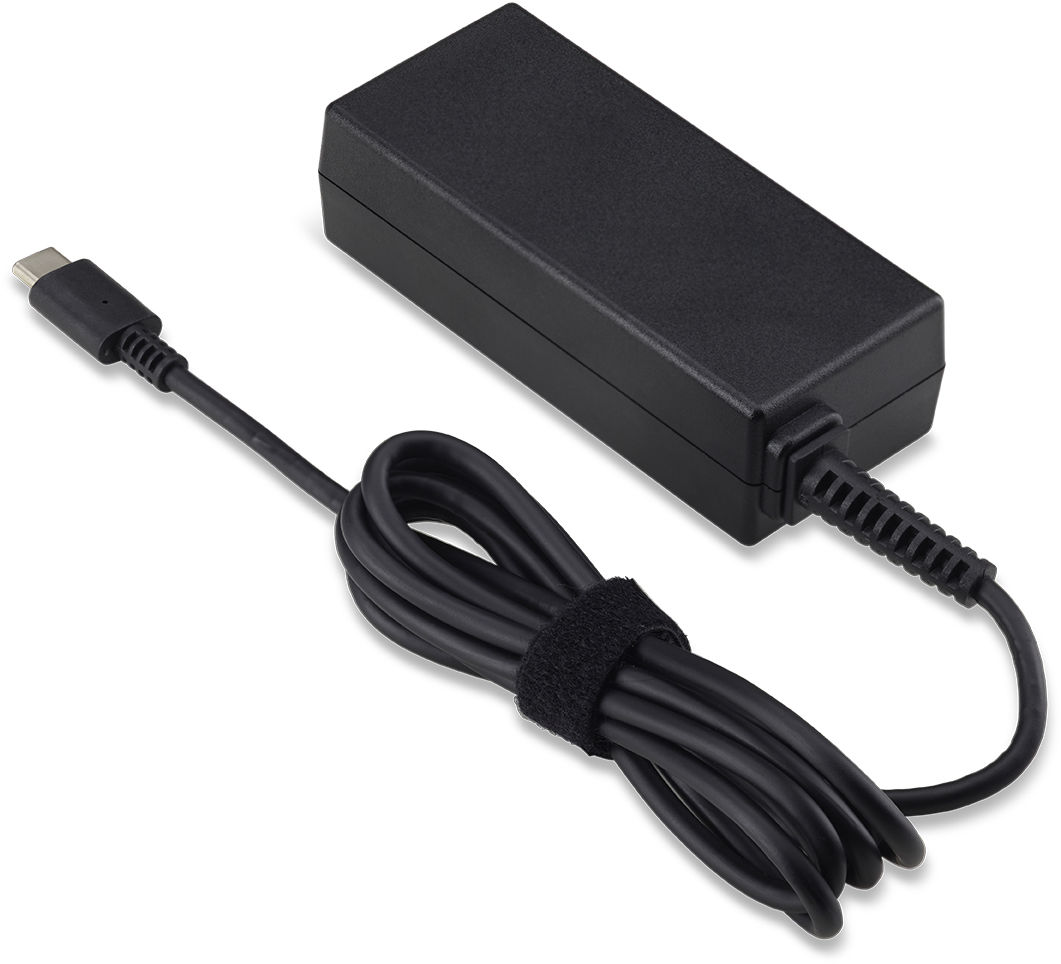 Acer AC ADAPTOR.45W.BLACK.W/EU POWER.CORD NP.ADT0A.065 - eet01