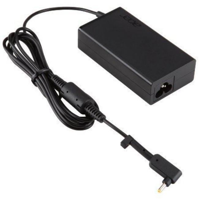 Acer ADAPTOR 45W_3PHY 19V BLACK EU AND UK POWER CORD NP.ADT0A.077 - eet01