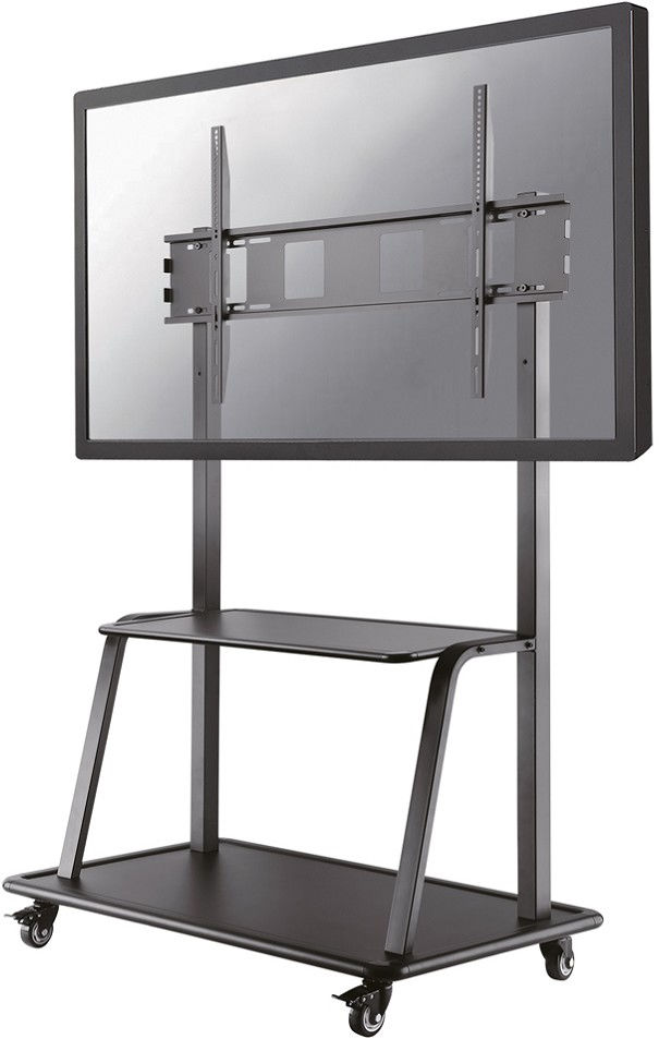 NewStar Mobile Flat Screen Floor Stand Trolley height: 137-162 cm NS-M4000BLACK - eet01