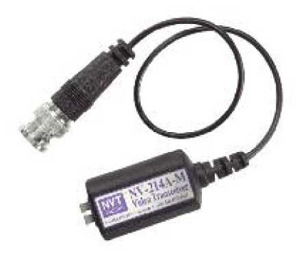 NVT Phybridge E VIDEO TRANSCEIVER - PIGTAIL MALE BNC NV-214A-M - eet01