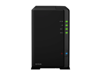 Synology NVR216 4 Channel Maximum 4 camera licenses NVR216(4CH) - eet01