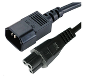 PE080618 MicroConnect Power Cord Notebook-C14, 1,8 m  - eet01