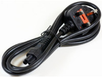 PE090830 MicroConnect Power Cord 3m UK / C5 Black H05VV-F 3G0,75 - eet01