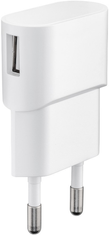 MicroConnect Charger for Smartphones 1Amp 1 USB Port, Slim Design PETRAVEL43 - eet01
