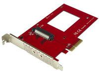 StarTech.com NVME PCIE ADAPTER - 2.5IN U.2  PEX4SFF8639 - eet01