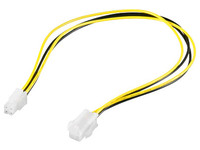 PI02011 MicroConnect 4 pin P4 power extension cable 4 pin P4 plug- 4pin P4 jack - eet01