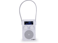POP YourSHOWER, dab+/fm, white 4 direct preset, re-chargeable POP100302 - eet01
