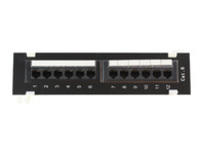 MicroConnect UTP Cat. 6 Patch panel,12port Wall-Mounted,110 IDC PP-002 - eet01