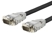 ProFusion Pro VGA Cable M - M 3 Meter Metal Housing. PROVGAM3 - eet01