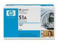 HP Toner Black P3005 M3035 Pages 6.500 Q7551A - eet01