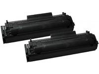 Quality Imaging Toner Black Q2612AD Pages: 2000x2 QI-HP2010 - eet01