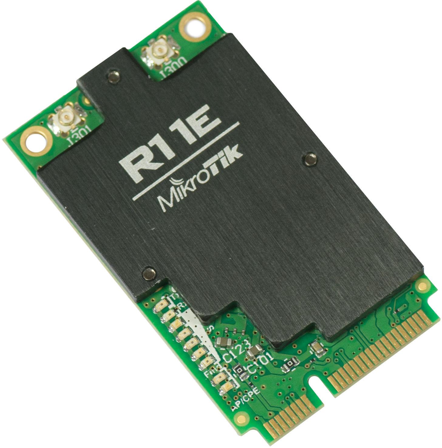 MikroTik 802.11b/g/n miniPCI-e card With u.fl connectors R11E-2HND - eet01