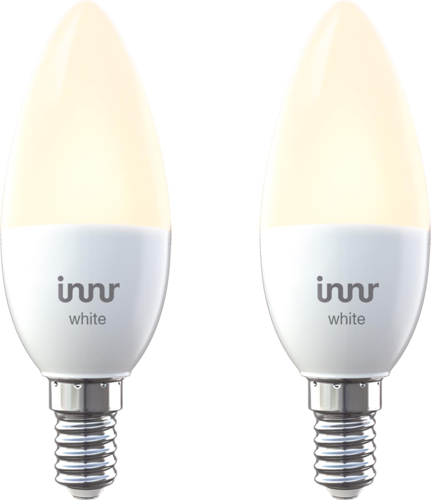 INNR Lighting 2x E14 smart LED lamp, Warm white, 2700K RB 245-2 - eet01