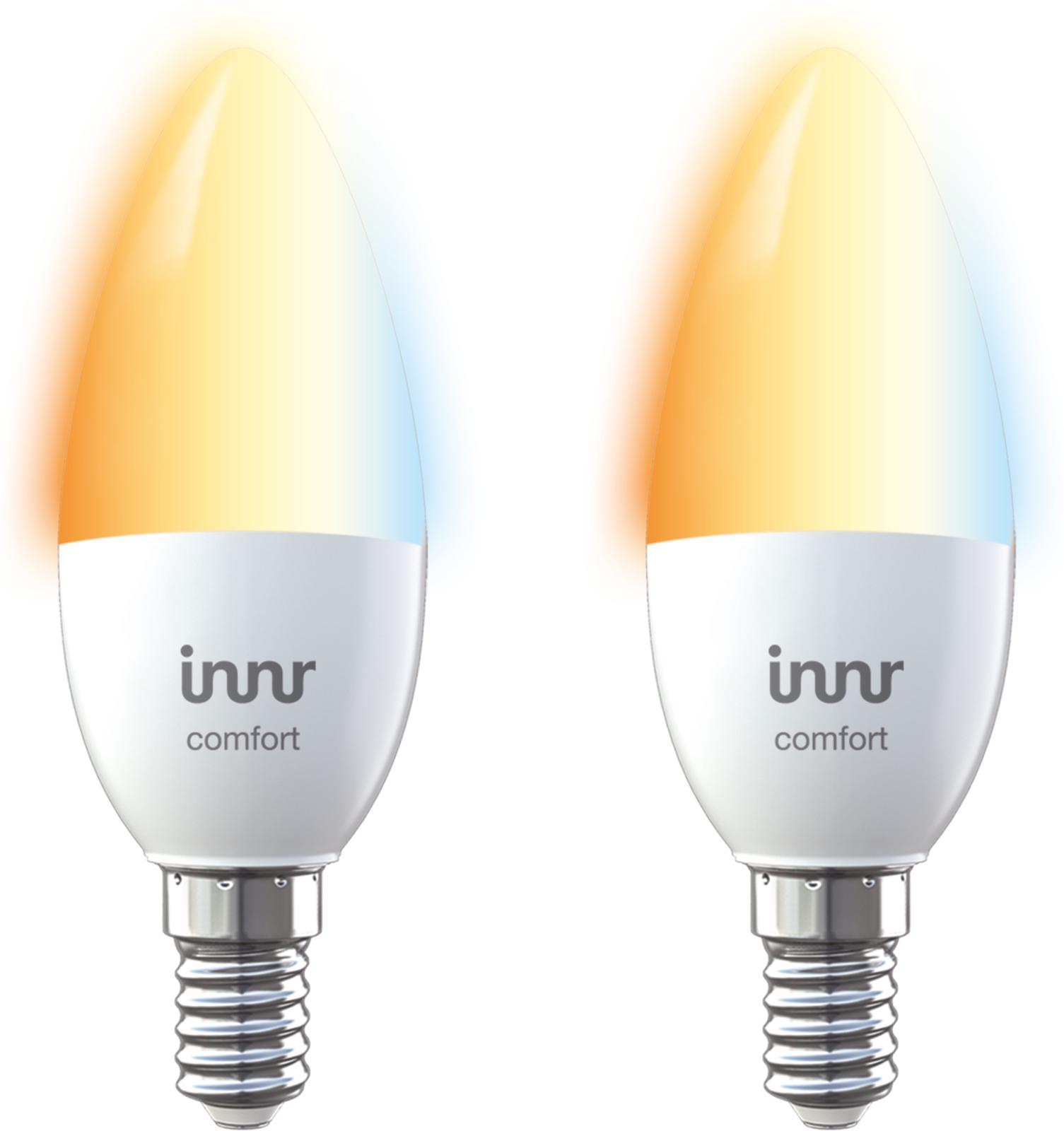 INNR Lighting 2x E14 smart LED lamp, 2200K-5000K tunable white RB 248 T-2 - eet01