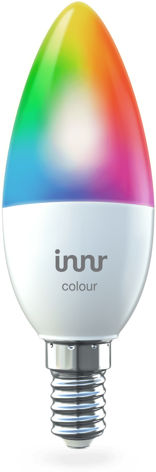 INNR Lighting 2x E14 smart LED lamp Color - RGBW/CCT,  470lm RB 250 C-2 - eet01