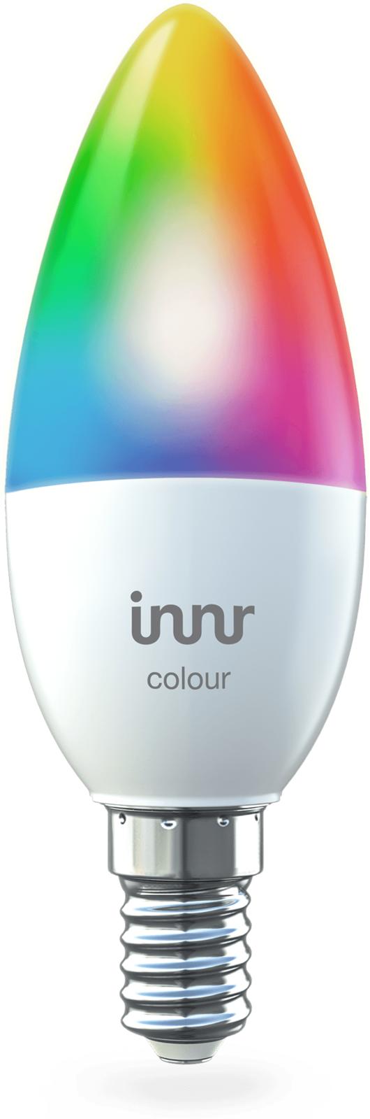 INNR Lighting 1x E14 smart LED lamp Color - RGBW/CCT, 470lm RB 250 C - eet01