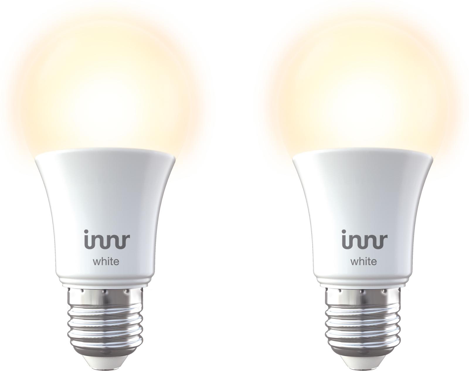INNR Lighting 2x E27 Retrofit smart LED lamp Warm white, 2700K RB 265-2 - eet01
