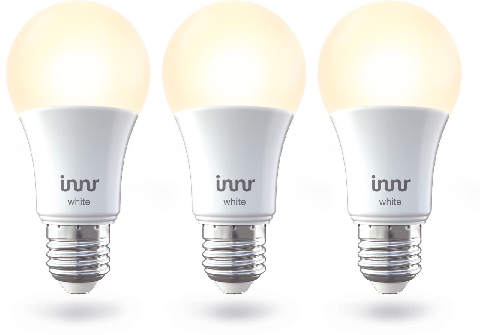 INNR Lighting 3x E27 Retrofit smart LED lamp Warm white, 2700K RB 265-3 - eet01