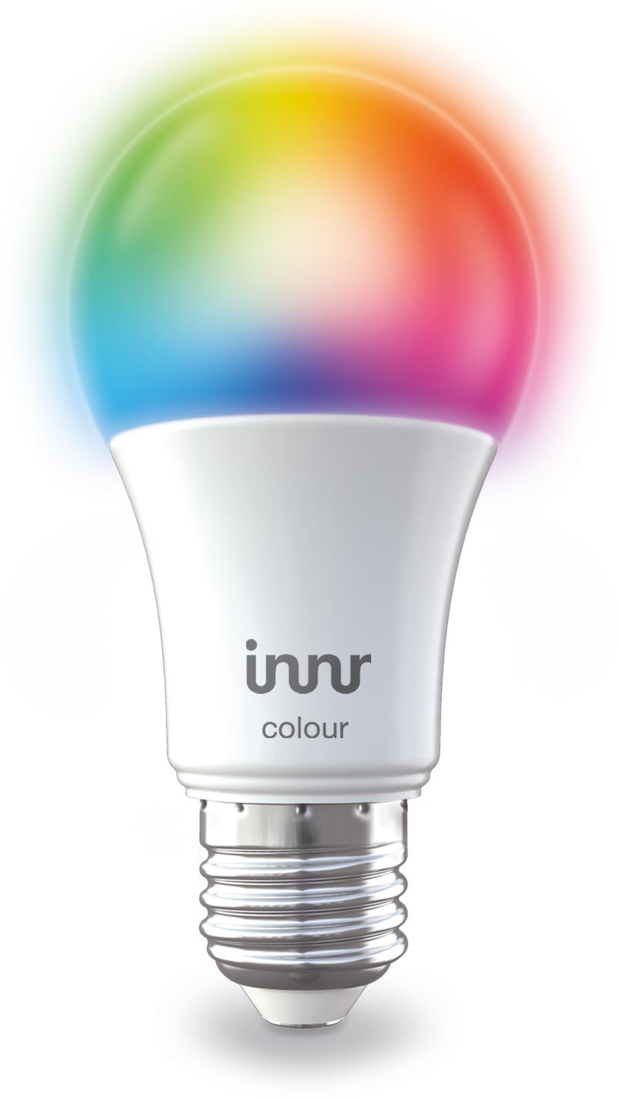 INNR Lighting 1x E27 Retrofit smart LED lamp RGBW 2000K-6500K RB 285 C - eet01