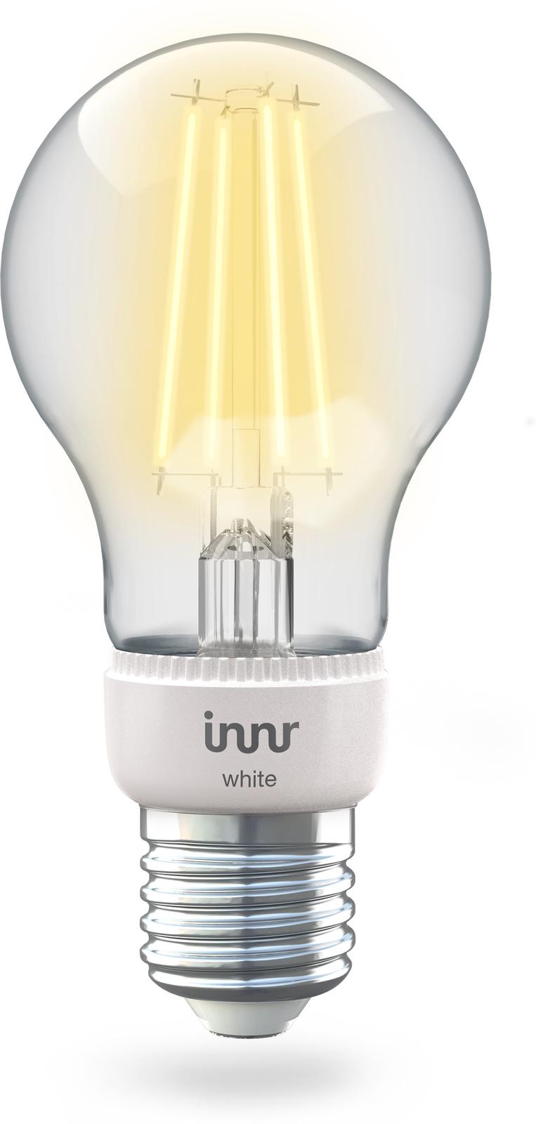 INNR Lighting 1x E27 Smart Filament Bulb White, 2.700K 806lm Z3.0 RF 265 - eet01