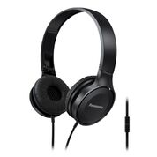 Panasonic HF100 On-Ear Headphone, Blue Microphone, 26 Ohm, 10-23kHz RP-HF100ME-A - eet01