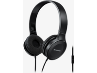 Panasonic HF100 On-Ear Headphone, Black Microphone, 26 Ohm, 10-23kHz RP-HF100ME-K - eet01