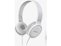 Panasonic HF100 On-Ear Headphone, White Microphone, 26 Ohm, 10-23kHz RP-HF100ME-W - eet01