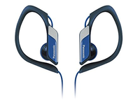 Panasonic Sport type headphone, blue IPX2, water resistant, RP-HS34ME-A - eet01