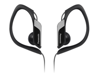 Panasonic Sport type headphone, black IPX2, water resistant, RP-HS34ME-K - eet01