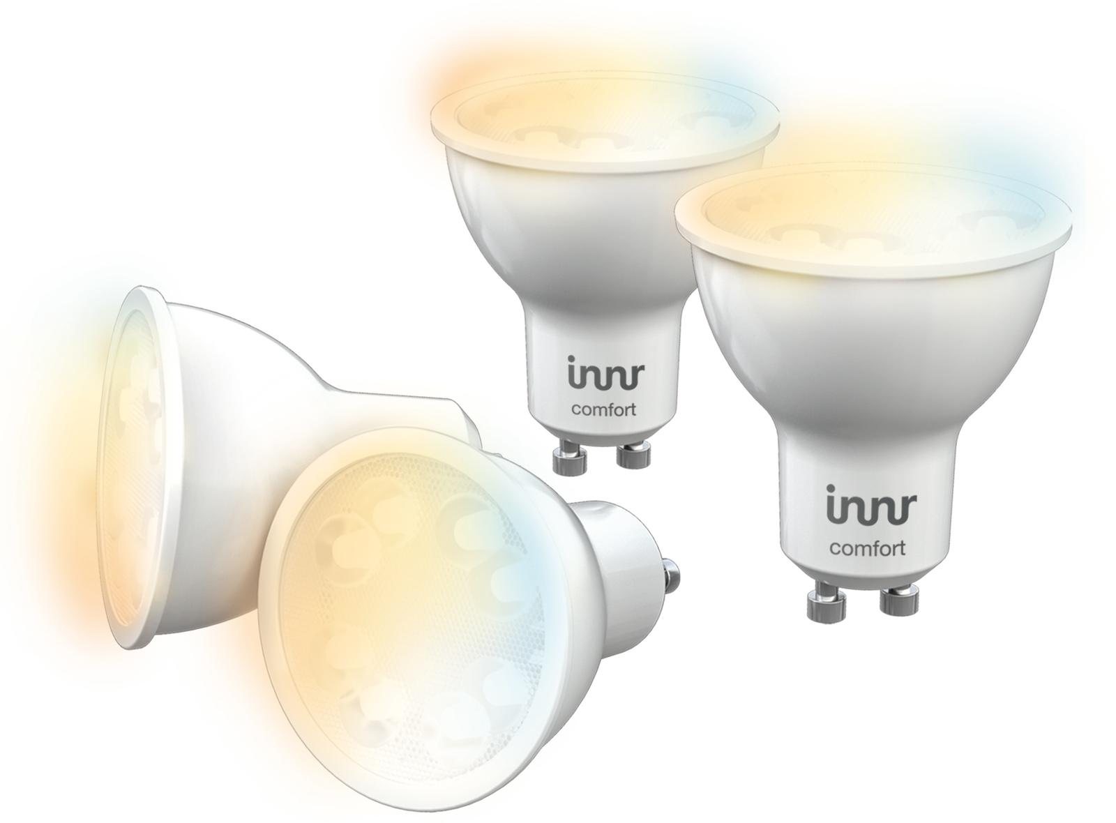 INNR Lighting 4x GU10, smart LED lamp. 2200K-5000K tunable white RS 228 T-4 - eet01