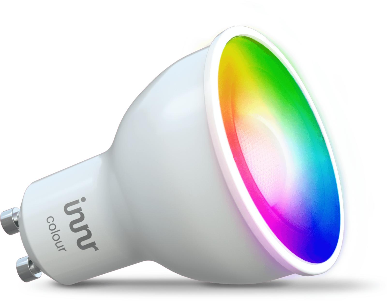 INNR Lighting 1x GU10, Smart Spot colour 350lm 1.800K - 6.500K ZB3.0 RS 230 C - eet01