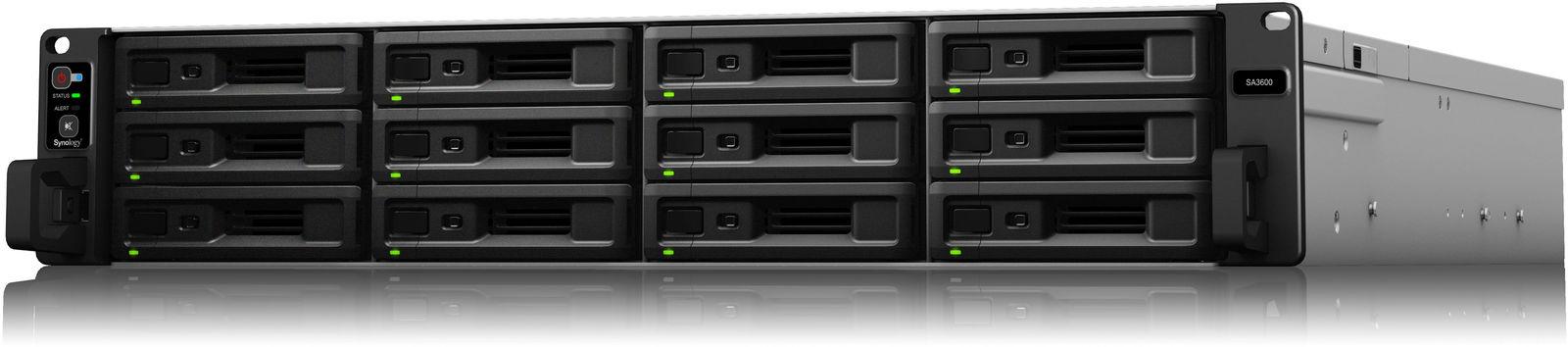 """Synology RackStation NAS SA3600 12-bay,12x3,5"""" or 2,5"""" SA3600 - eet01"""