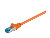 MicroConnect S/FTP CAT6A 0.25M Orange LSZH PIMF( Pairs in metal foil) SFTP6A0025O - eet01