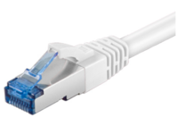 MicroConnect SFTP CAT6A 2M White  SNAGLESS LSZH SFTP6A02W - eet01