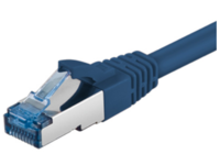 SFTP6A10B MicroConnect SFTP CAT6A 10M Blue SNAGLESS LSZH - eet01
