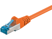 MicroConnect S/FTP CAT6A 10M Orange LSZH PIMF( Pairs in metal foil) SFTP6A10O - eet01