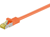MicroConnect CAT 7 S/FTP  RJ45 ORANGE 30m Cat 7 PIMF tested up to 600MHz SFTP730O - eet01