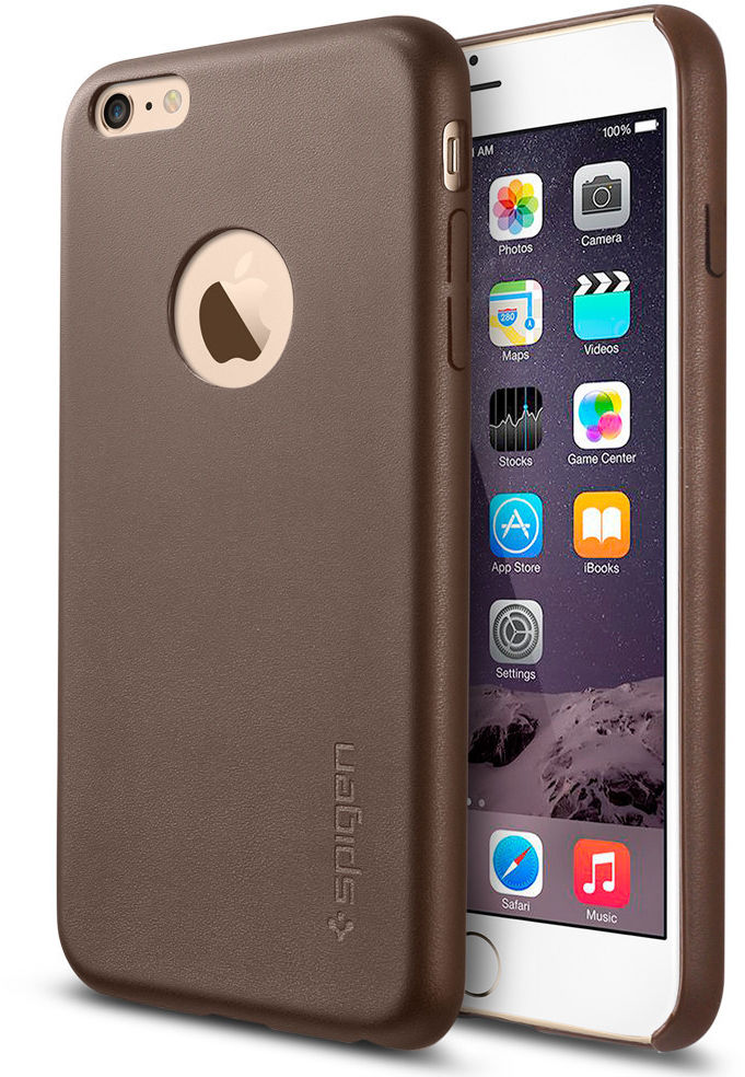 Spigen IPhone 6 Plus Case Leather SGP11401, Cover, Apple,  SGP11401 - eet01