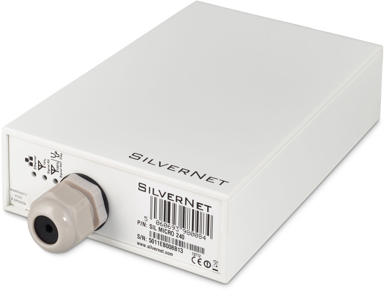 Silvernet POINT TO POINT RADIO LINK - 240mbps UP TO 2km LINK SIL MICRO 240-PCP - eet01