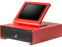SpacePole SPCF103-22 C-Frame Cash Drawer EK300 - Red SPCF103-22 - eet01